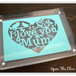 Mothers Day Papercut