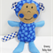 MITCH the cuddle MONKEY Softie Toy *FREE POST