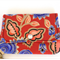 Coin or cosmetics purse - Free post in Oz!  Red, gold and blue.