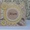 Card for Mum ~ Lover of Sewing ~ Christmas ~ Mum's Birthday
