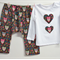 Little Owl Girls Harem Pants Set- Handmade, Mountain Pants / Aladdin Pants