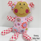 LULU the cuddle MONKEY Softie Toy *FREE POST