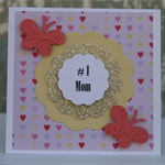 Mini # 1 Mom Gift Card ~ Mother's Day ~ Ready to Post
