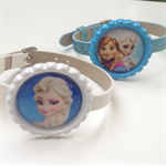 Disney FROZEN Boutique Bottlecap Buckle Belt Wristband  Princess Anna or Elsa