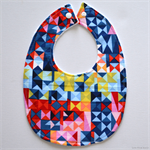 BUY 3 GET 4th FREE Geometric Paintbox Prisms Bib