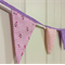 Pink and Purple Bunting