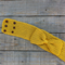 Adjustable mustard yellow crocheted headband/ear warmers