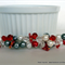 Beaded Hair Barrette – Red