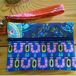 Designer Clutch with detachable wrist strap