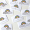 Rainbow Stickers- Pack of 10
