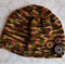 Boy's Hand Knitted Beanie - brown, size 2 - 5 yrs