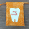 Orange - my tooth Bag