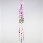 CRYSTAL PEWTER DREAMCATCHER/ SUNCATCHER