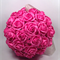 Fuchsia Mulberry Paper Flower Ball
