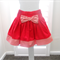 Girls Red Cord Skirt Size 2-3