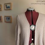 Latte Alison Weekend Jacket Size 12/L