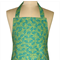 Green Leaves Fabric 'Kitchen Basics' Apron - Christmas Birthday, Gift Idea