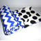 Cot Quilt or Playmat Royal Chevron - Bright Bold Modern Baby gift