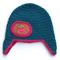Baby Girl Winter Beanie Crochet Knit Hat - 3-6 months - Ear warmers Strawberry