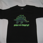 PAY WHAT YOU WANT! Boys/Toddler Dinosaur Personalised T-Shirt Size 4