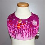 Pink Fireflies Bib