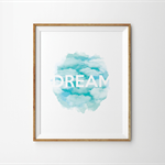 Dream Watercolour Print - Storm