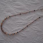 Bone & Wood Beaded Necklace