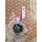 Dummy Clip with pearl and chiffon flower