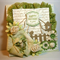 Garden Themed Happy Birthday Card