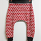 Kids Harem Jogger - Red Delicious Available Sizes 1-3, Stretch, Baggy Pants