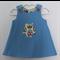 Reversible Owl corduroy dress - size 0