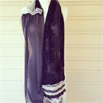 Lace Ensemble Scarf - Tres Chic