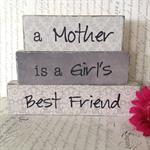 'Girl's Best Friend' Mother's Day Block Set