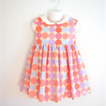 Size2 Pastel Circle Party dress