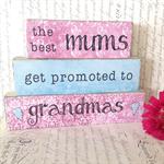 Custom Mum/Grandma Mother's Day Block Set