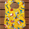 Large Toddler Baby Bib Yellow Dr Suess