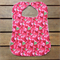 Large Toddler Baby Bib Pink Red Raspberries