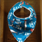 Baby Bandana Dribble Bib - Dr Seuss Blue Cat In The Hat