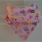 Adjustable Baby Bandana Bib with Bamboo Towelling - Princess - Soft Absorbent Ba