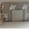 Giraffe Nappy Wallet with Grey Dots with New adjustable closure