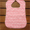 Large Toddler Baby Bib Pink Elephants
