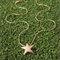 Star - Handmade Sterling Silver Pendant with Snake Chain