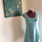 Mary Sleeveless Long Tunic Teal Top Size 10/M