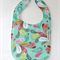 Bibs - buy 3 get the 4 th free/  Turquoise feather
