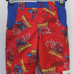 "Boys ""Spiderman"" inspired longies shorts - Custom Order"