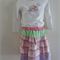 SUPER SALE - Sz 2-3 - Skirt with LS tee