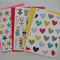 Pack of 3 - A2 Blank Greeting Cards & Envelopes