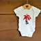 Palm Tree Tshirt or Bodysuit in Newborn to 4 yrs // Geometric // Tropical