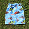 Thomas the Tank Engine bag, large cotton drawstring for toys or library