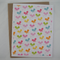 Bitty Butterflies - A2 Blank Greeting Card & Envelope